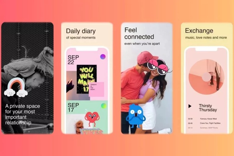 Facebook Tuned app for Couples