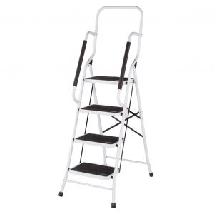 multi purpose ladder with handrails