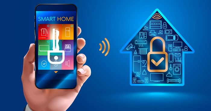 secure your home with home automation system