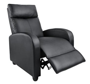perfect leather recliner for study
