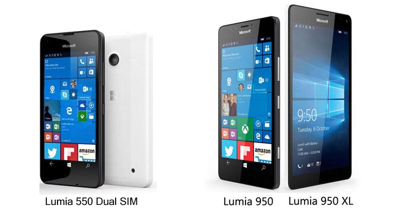 lumia-550-lumia950-lumia-950-xl