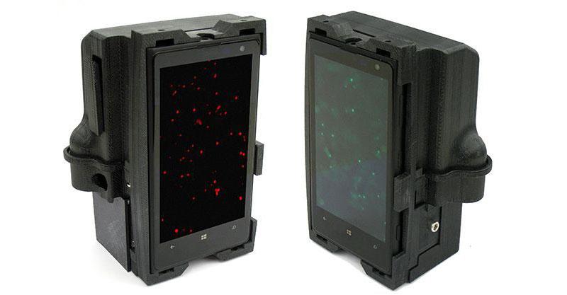 3D Printed Device Microscope with Nokia Lumia 1020