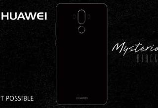 Huawei Mate 9 Matte Black Color