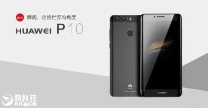 Huawei P10 Plus Render
