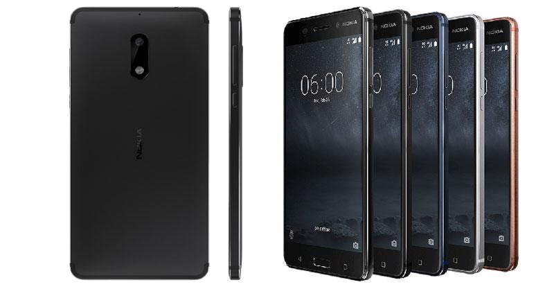 Nokia 6 Global Profile Photos