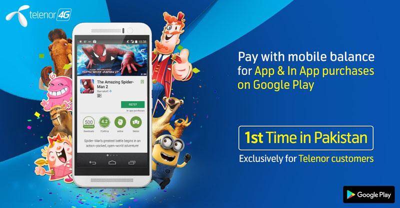 Telenor-Google-Play-Store