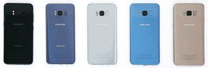 Galaxy S8 Colors - Rear