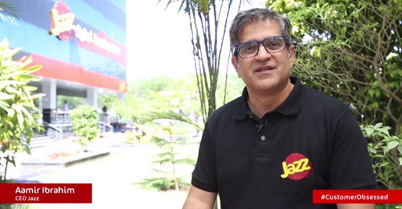 Jazz CEO Aamir Ibrahim