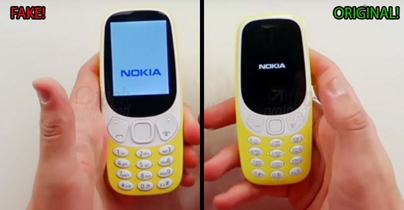 Fake Nokia 3310 (2017) - How to identify it by 9 ways - Tech