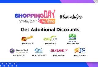 Yayvo Shopping Day Additional Discounts