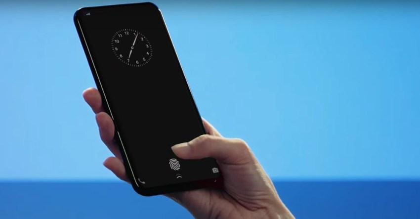Vivo Under-Display Fingerprint Sensor