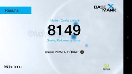 Huawei Y5 2017 Basemark X Benchmark