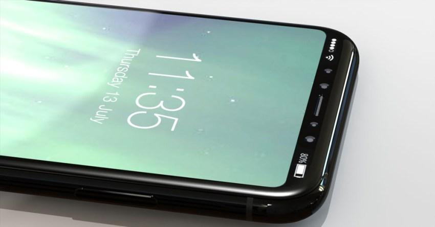 iPhone 8 Top Cutout