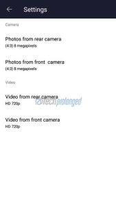 Nokia 3 Camera Settings
