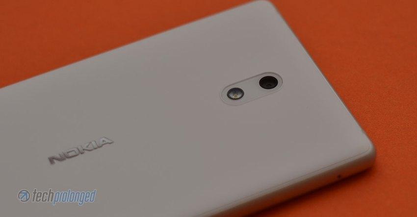 Nokia 3 Primary Camera with Flash