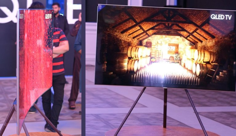Samsung QLED TV Launch 2017 Pakistan