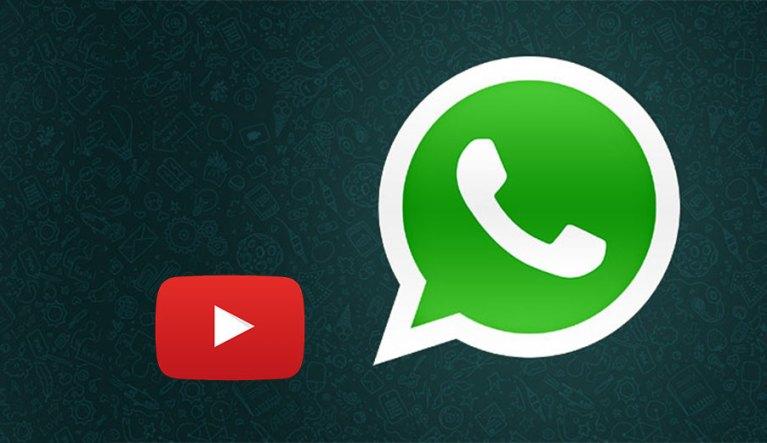 YouTube in WhatsApp