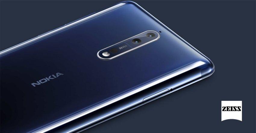Nokia 8 - Carl Zeiss Dual Camera
