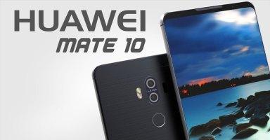 Huawei Mate 10 - Render
