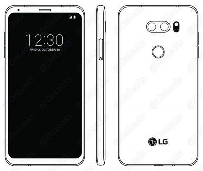 LG V30 Illustration from User Manual