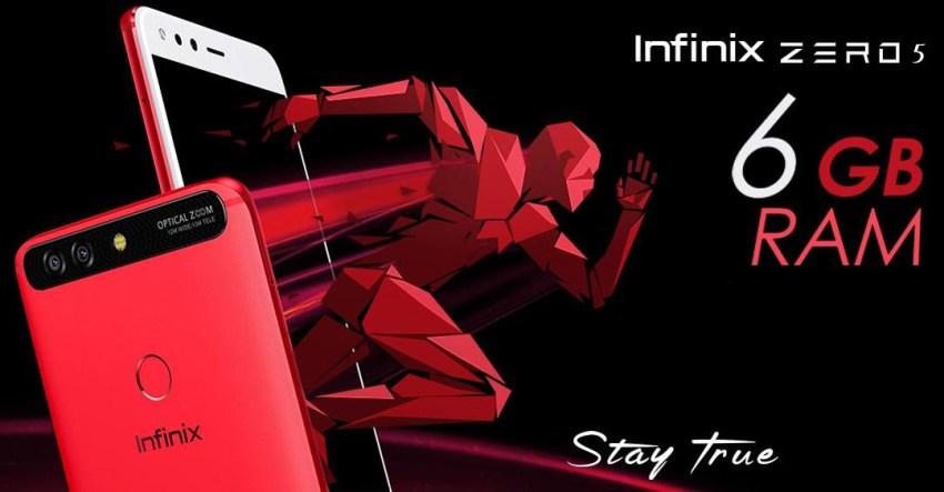 Infinix Zero 5 Pakistan Price