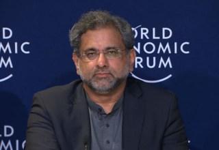 PM Abbasi at WEF 2018, Davos