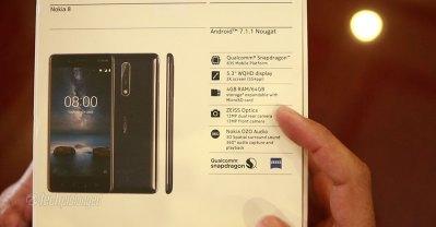 Nokia 8 Unboxing Pakistan
