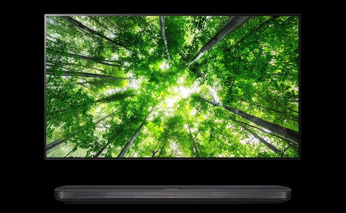 LG OLED W8 Series TV 2018