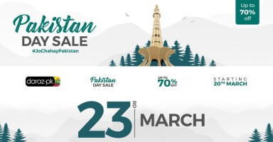 Daraz Discounts Pakistan Day March 23