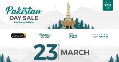 Daraz Discounts Pakistan Day March 23