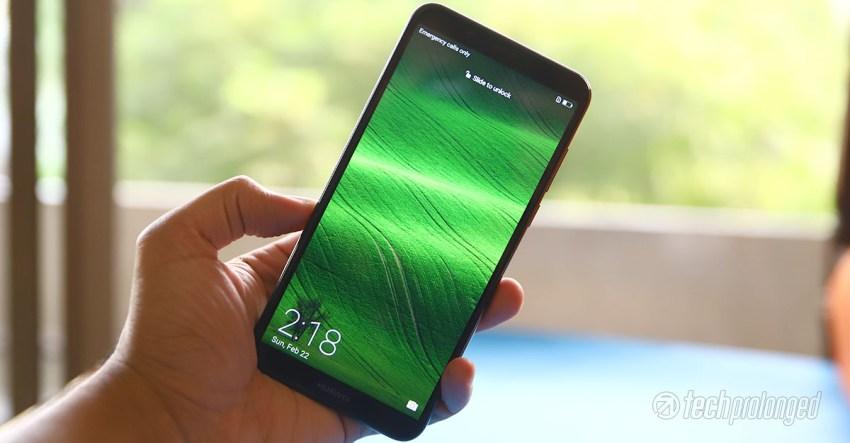 Huawei Y7 Prime 2018 6-inch display