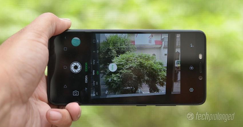 Infinix Hot S3 Camera UI