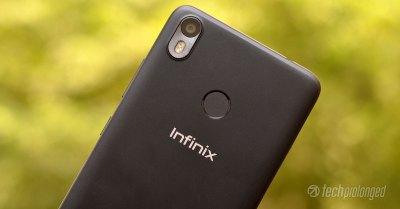 Infinix S3 Review Rear Camera Fingerprint