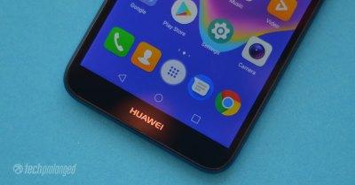 Huawei Y5 Prime 2018 - Bottom Bezel Chin