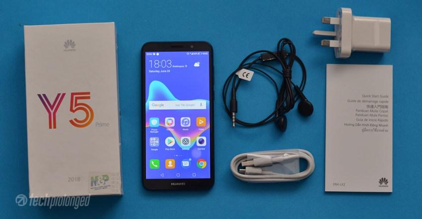 Huawei Y5 Prime 2018 Unboxing