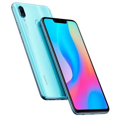 Huawei Nova 3 Airy Blue Profile