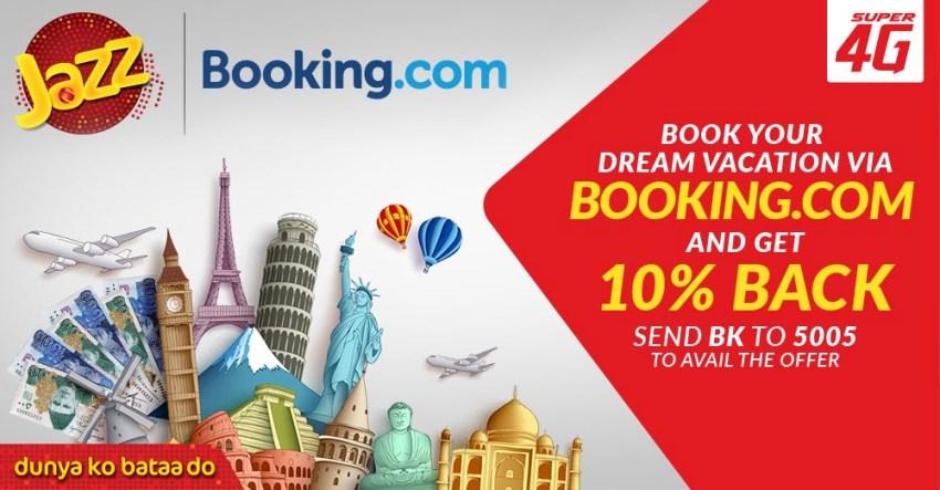 Jazz Discounts Booking.com