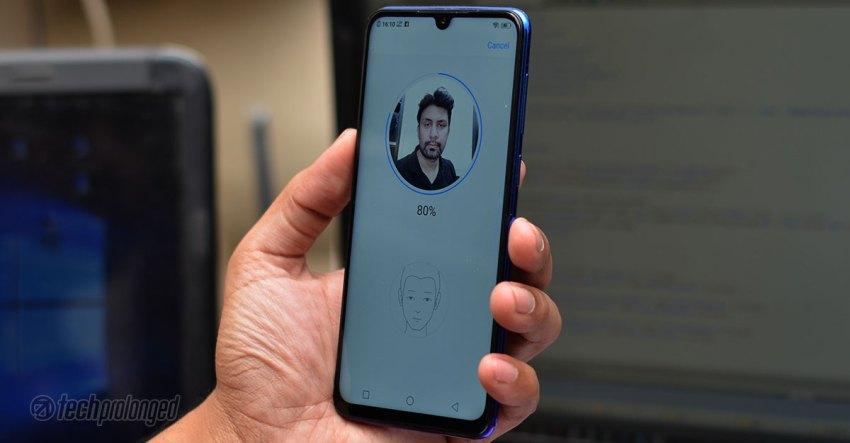 Vivo V11 Review IR Face Unlock