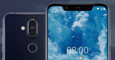 Nokia 8.1 Feature