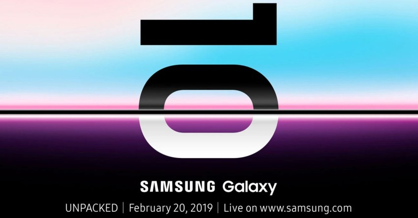 Unpacked Galaxy S10 Launch Date