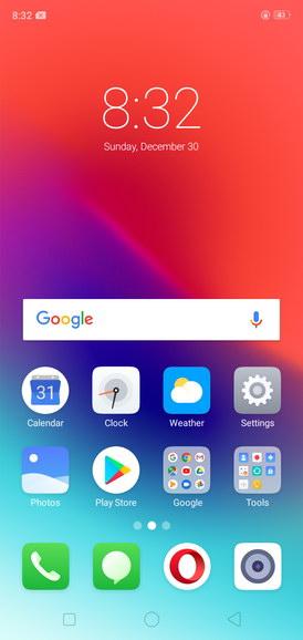 Realme C1 Color OS