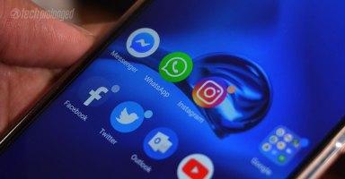 Facebook, WhatsApp, Messenger, Instagram