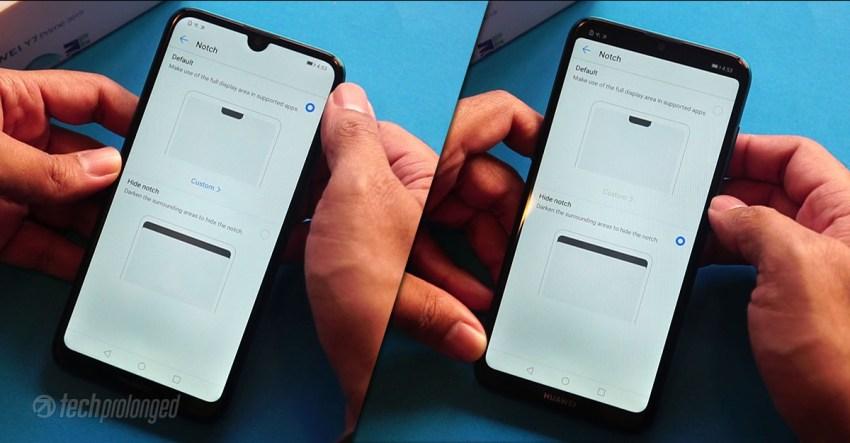 Huawei Y7 Prime 2019 Hide Notch