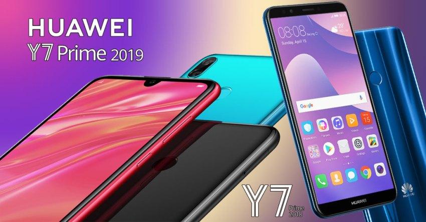 Huawei Y7 Prime 2019 vs Y7 Prime 2018
