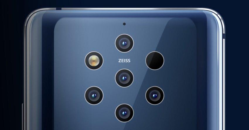 Nokia 9 PureView Five-Camera