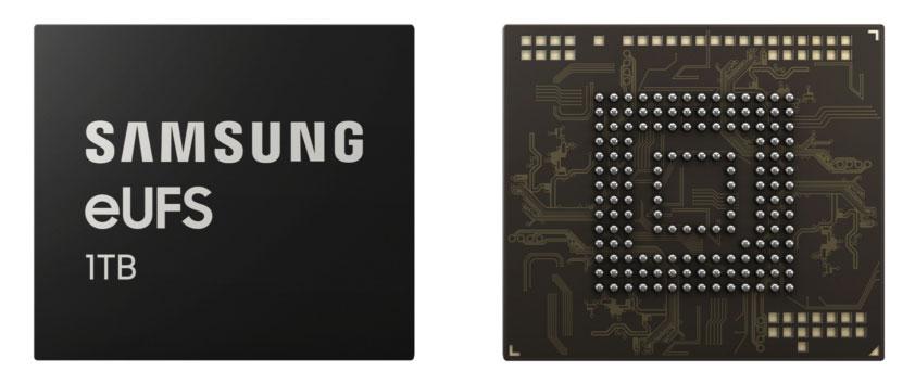 Samsung 1TB eUFS - Embedded Universal Flash Storage