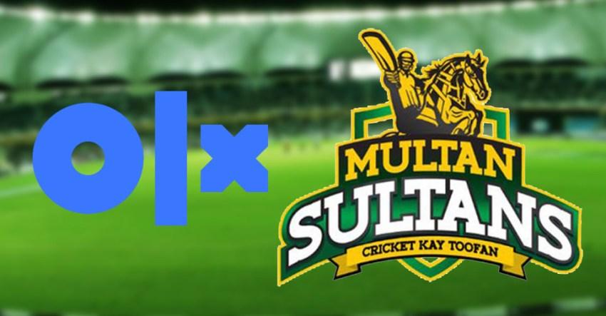 OLX to sponsor Multan Sultans on digital platforms for PSL