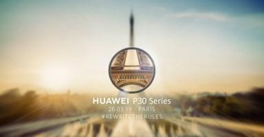Huawei P30 Launch Live Stream