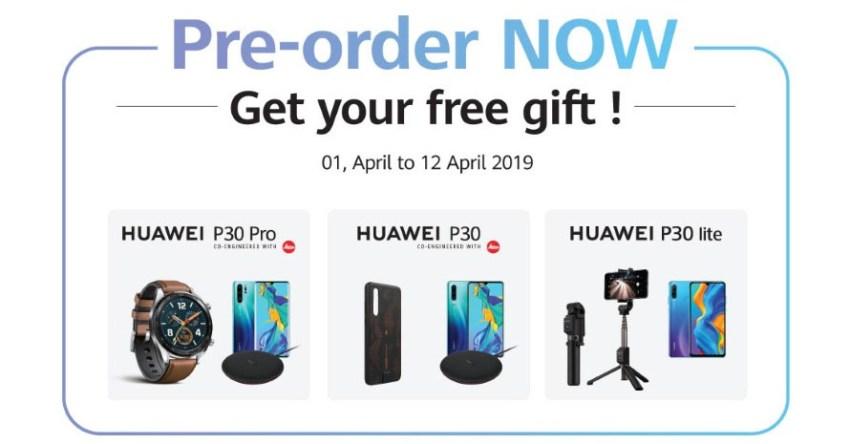 Huawei P30 Free Goodies Pakistan