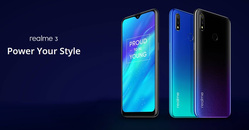 Realme 3 Pakistan Launch